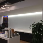 Wall Mural First Panel Installed